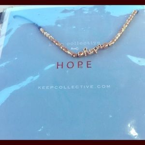 KEEP COLLECTIVE Script Pulley Bracelet